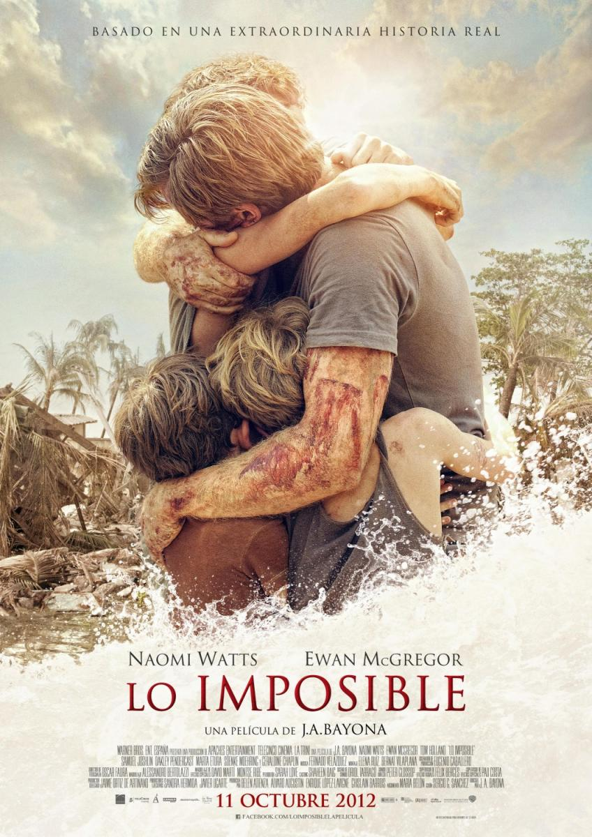  Lo imposible cartel poster online en espaol gratis 