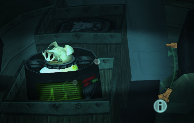 Beyond Good and Evil Pey'j Watchmen badge easter egg screenshot