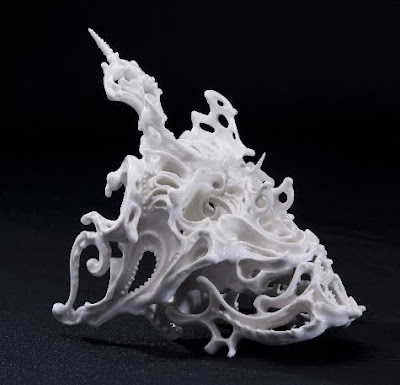 Ornate Porcelain Skulls by Katsuyo Aoki Seen On www.coolpicturegallery.us