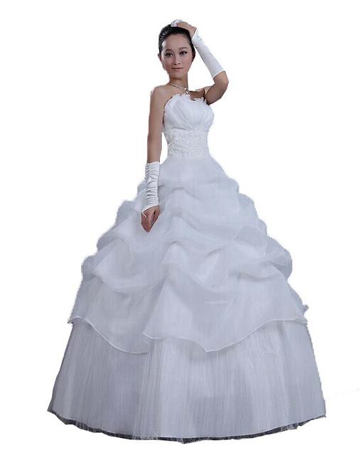 Robe de Mariée Blanc Sexy Encolure Backless fleurs mariage mariée Princesse douce Slim robe de mariée