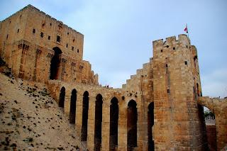 Citadel in Aleppo - Syria