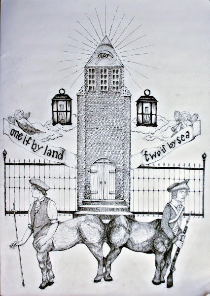 Paul Revere drawing