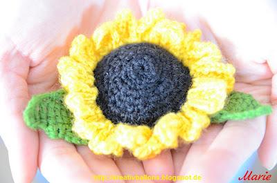 Sonnenblume häkeln