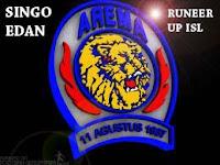 arema indonesia runner up isl 2010-2011 | prestasi singo edan | arema indonesia cetak rekor gol
