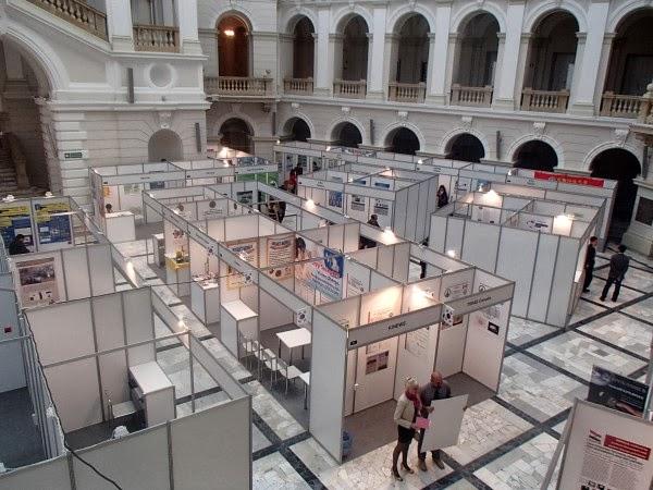 7. Międzynarodowa Warszawska Wystawa Wynalazków widziana z góry