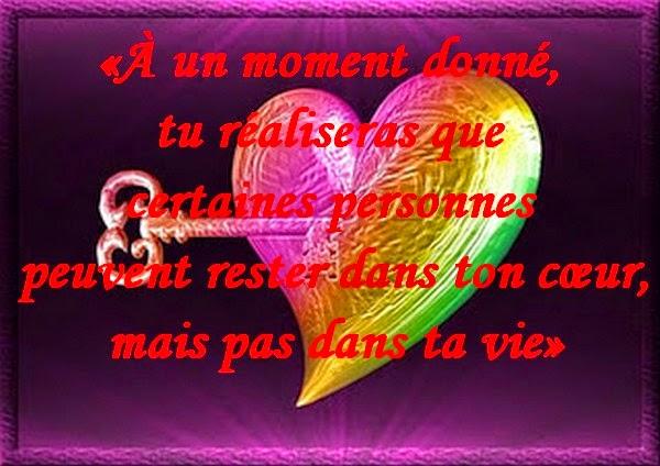 Célèbre Message d'Amour et d'Amitié: Carte et texte Amour douloureux  DV88