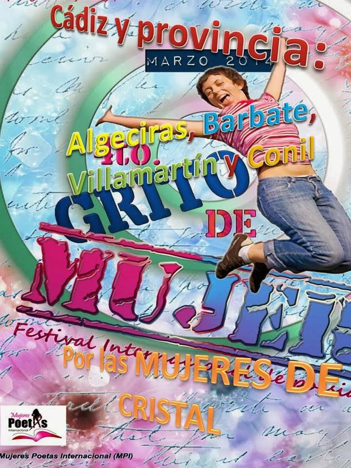 CARTEL DEL IV FESTIVAL, GRITO DE MUJER, 2014