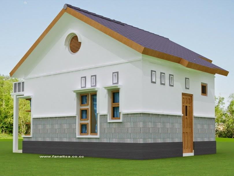 Desain Rumah Minimalis Sederhana Type 36 Dengan Taman