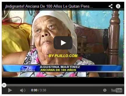 ¡Indignante! Anciana De 100 Años Le Quitan Pension De 500 Pesos