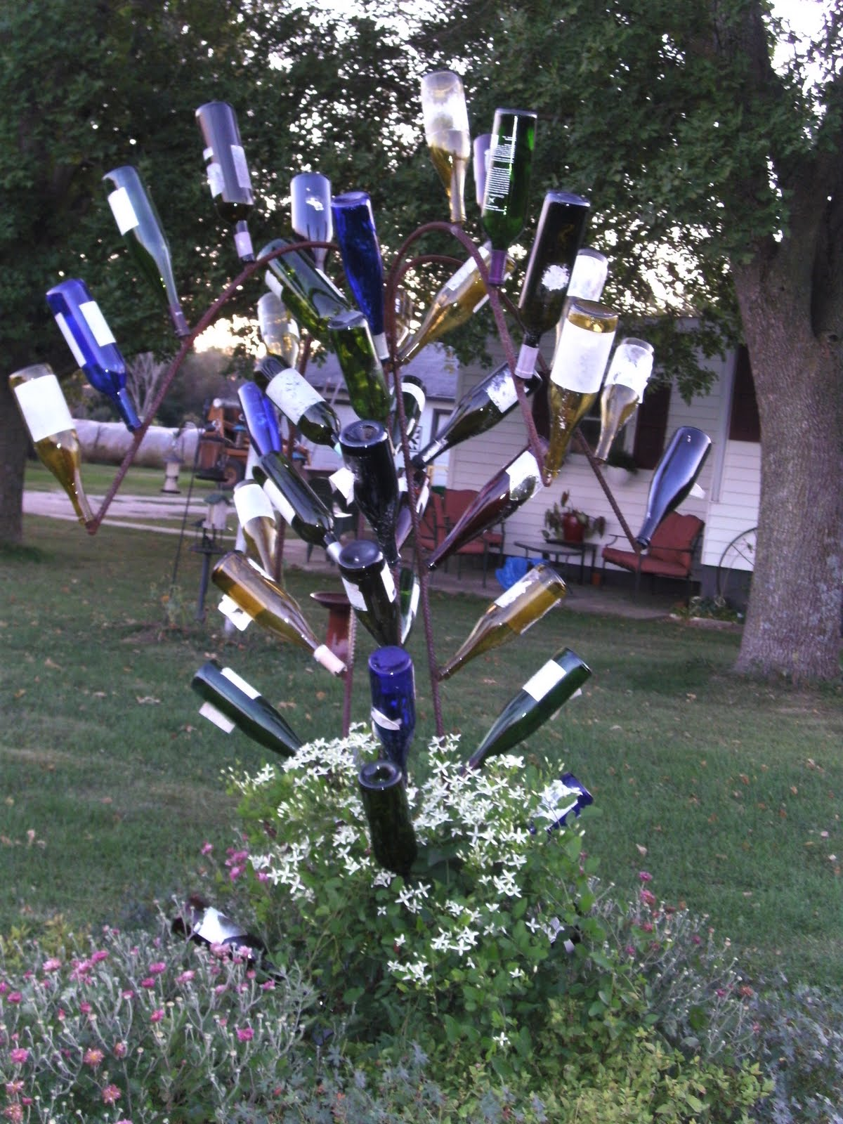 Making home wine bottle trees for How to make a wine tree