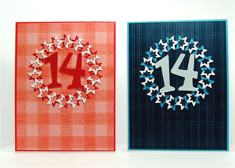 Capadia Designs Twin Birthday Cards