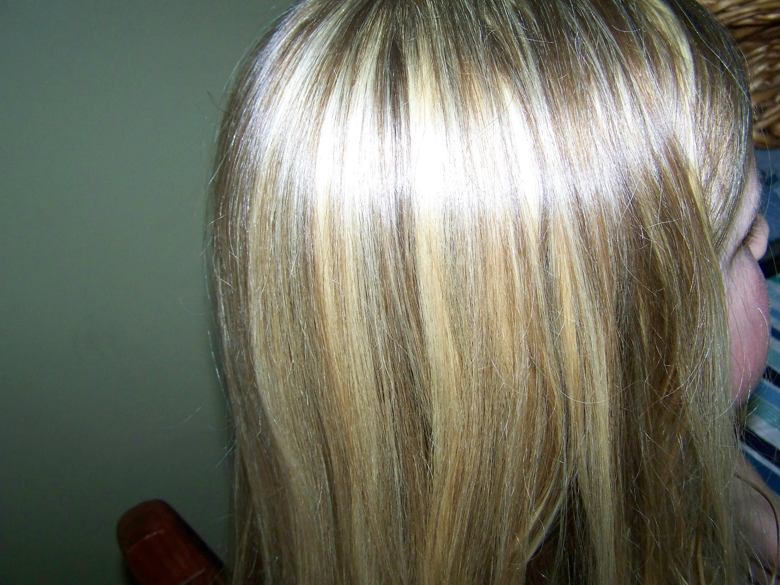 Poppy juice do it yourself hair color weave or highlights 8 side view of finished highlights solutioingenieria