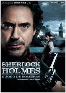 Download - Sherlock Holmes - O Jogo de Sombras DVDRip - AVI - Dual Áudio
