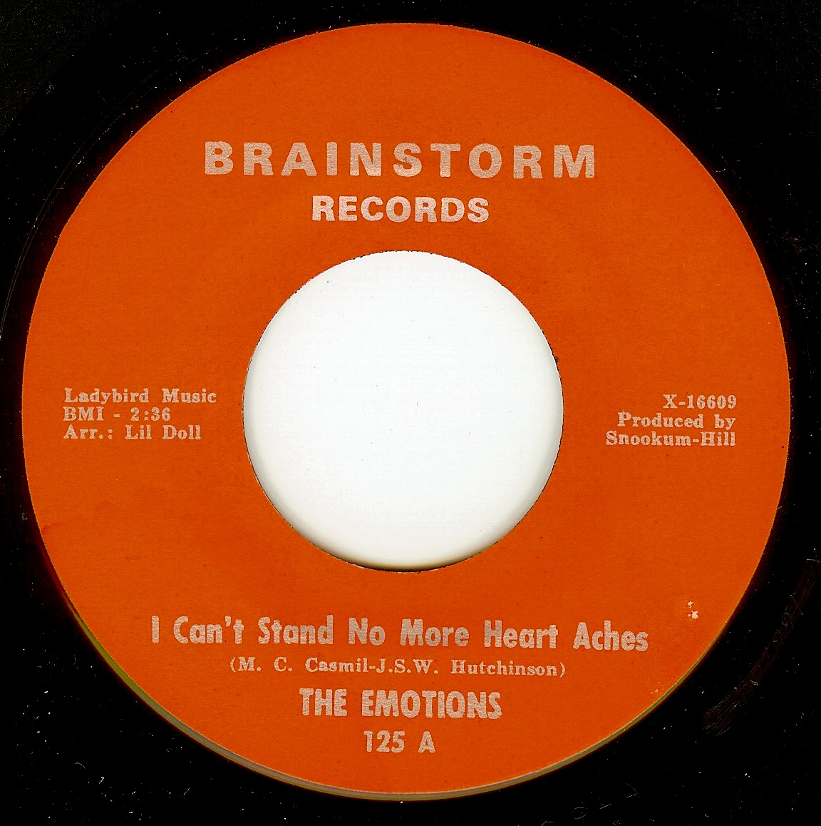 The Emotions - I Can't Stand No More Heart Aches