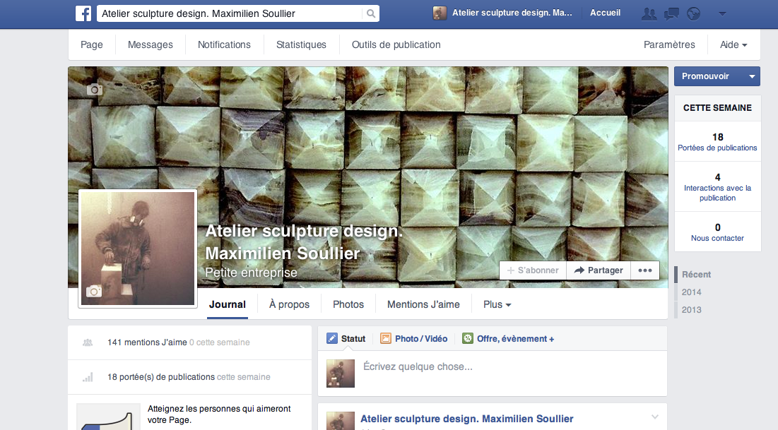 Aimer ma page facebook