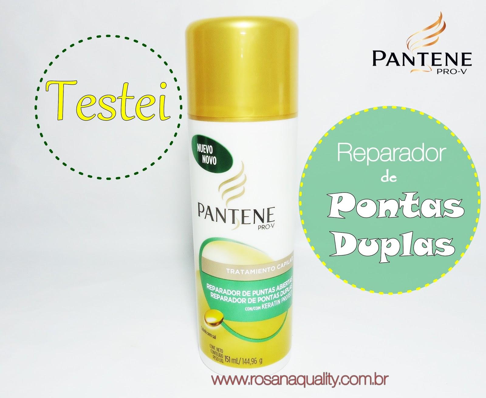 Reparador de Pontas Duplas Pantene