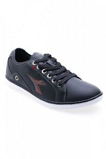 Diadora Siro Sepatu Pria - Hitam