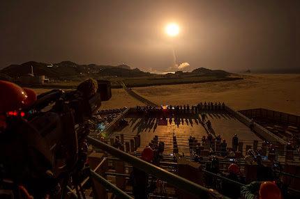 JAPANESE H-IIA ROCKET LAUNCHES FROM TANEGASHIMA SPACE CENTER