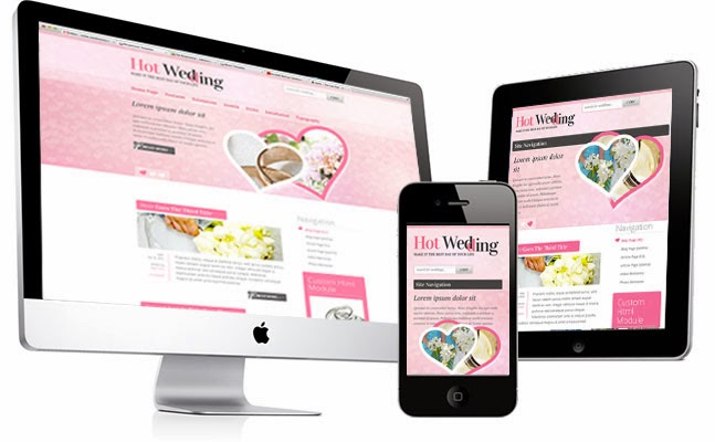 Joomla Wedding Template - Hot Wedding