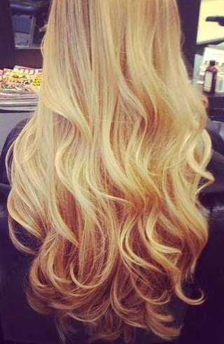 Banho de brilho para cabelos loiros
