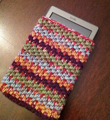 free crochet pattern pebbly iphone cozy
