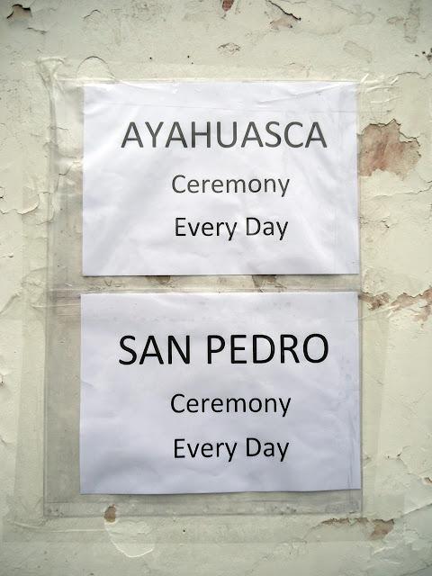 Cusco Peru Ayahuasca San Pedro