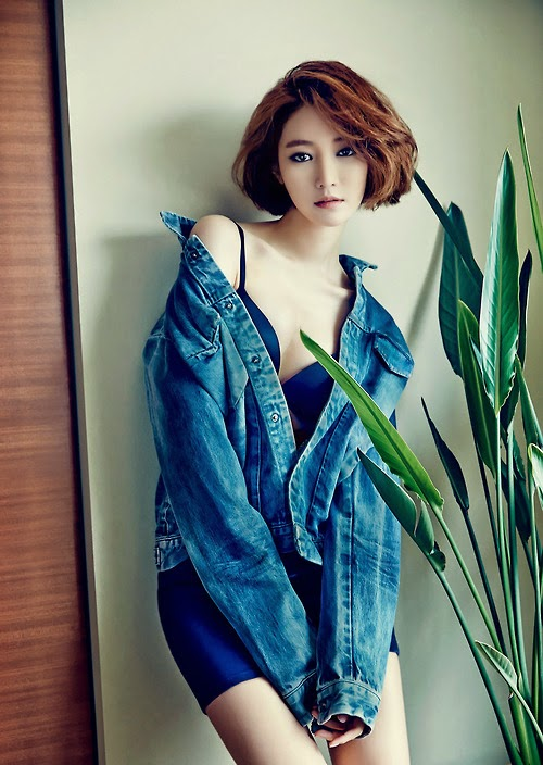 The gorgeous go joon hee turns up the heat with park hae jin in their