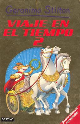 """Me gustan los libros: """"Viaje en el Tiempo 2"""", de Gerónimo"""