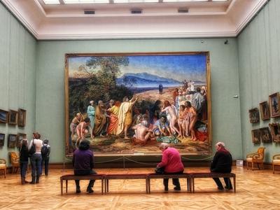 Из Третьяковской галереи выкинули картину известного художника