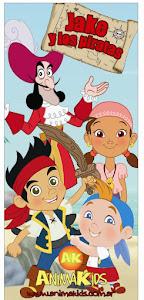 Escenografía Jake y los piratas