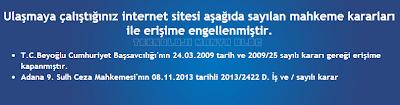 Dailymotion Video Sitesi kapatıldı
