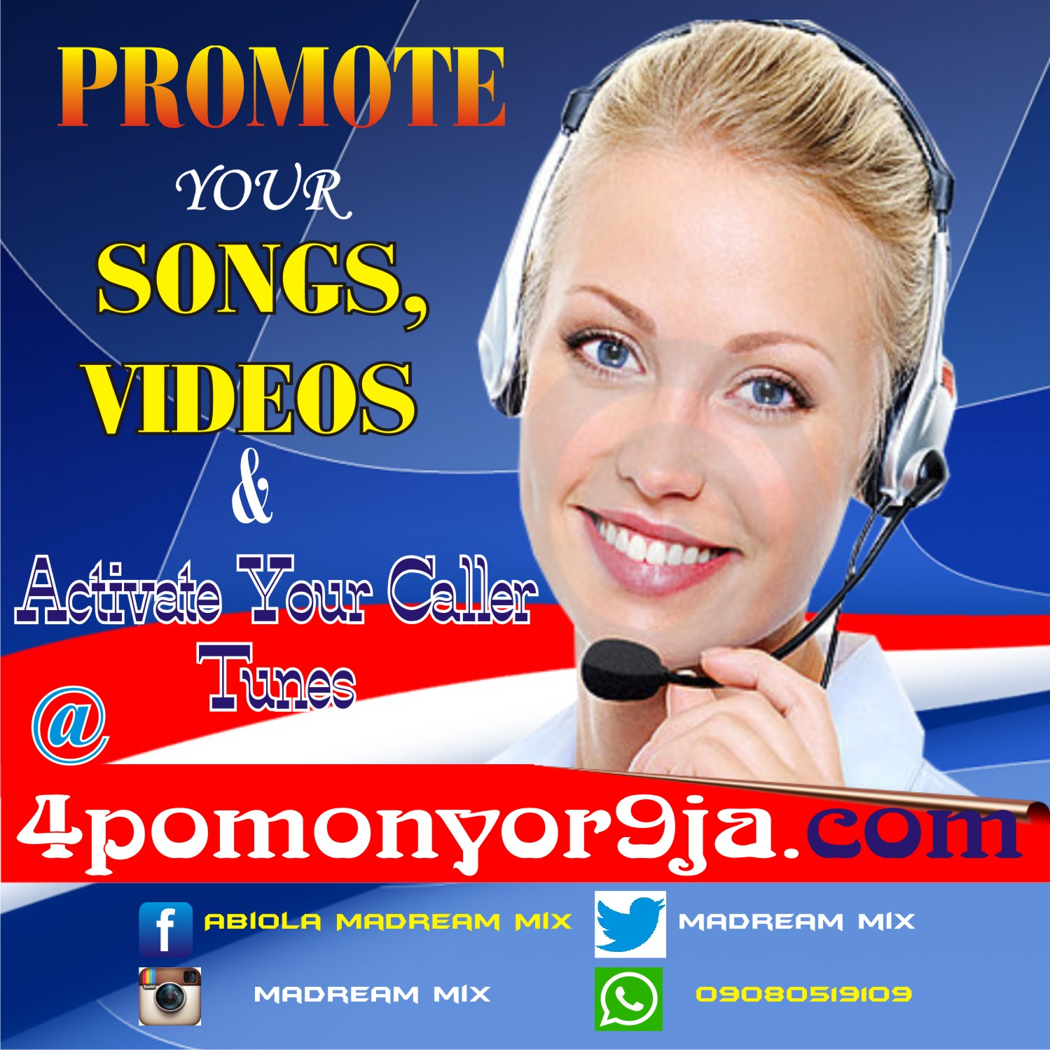 Promote Your Songs & Videos