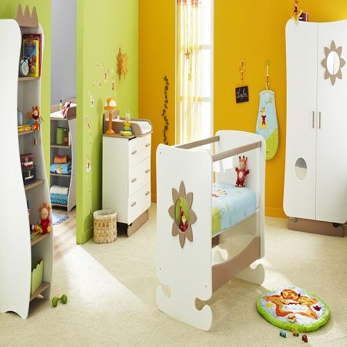 Exemple de chambre de bébé