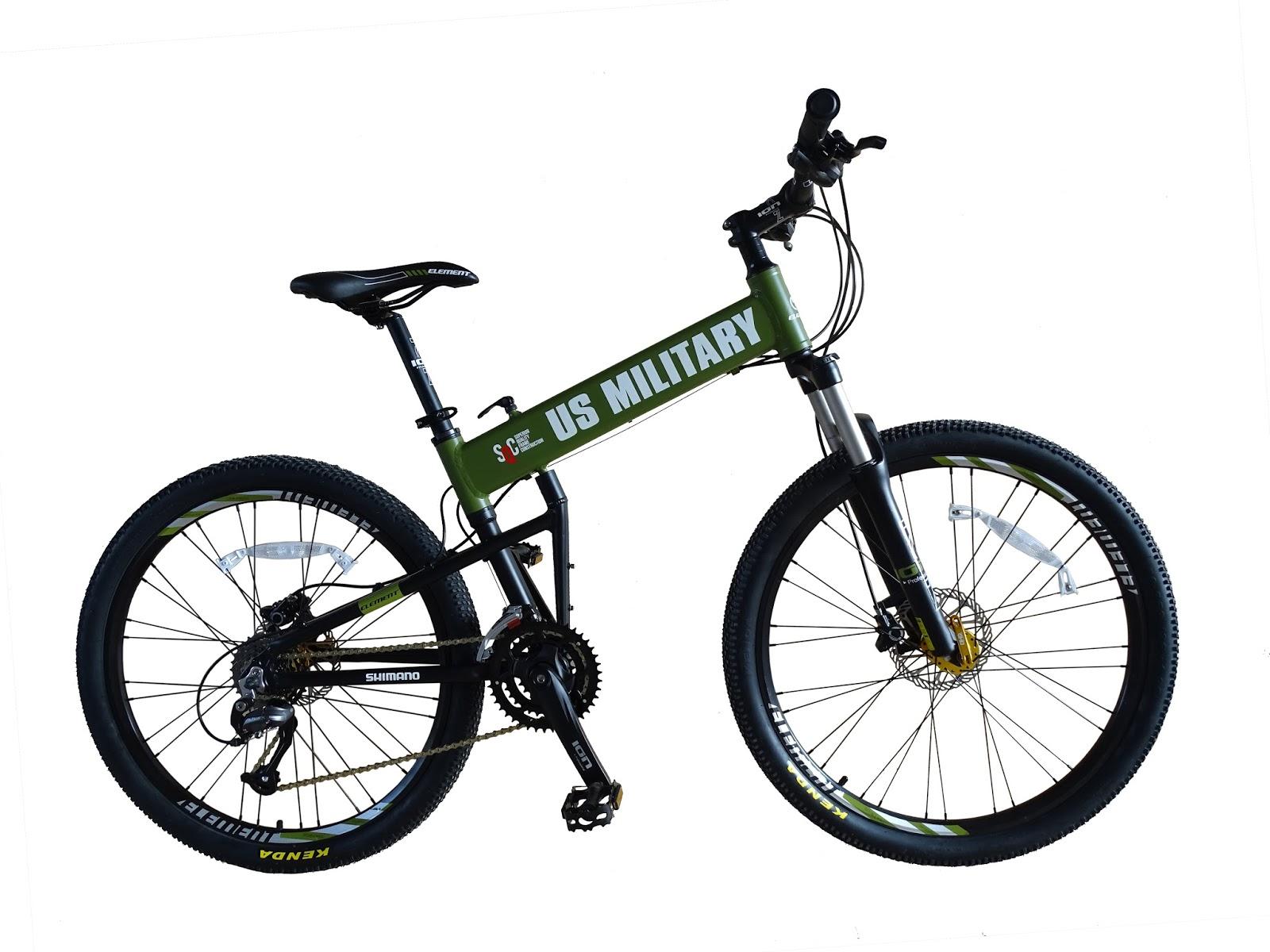 Ricko Bike Shop: Sepeda Gunung Element US Military