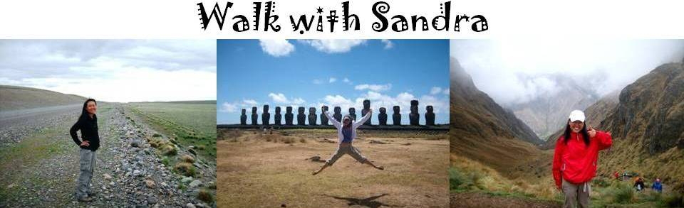 Walk with Sandra