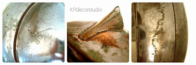 Estilo industrial. lámparas antiguas sobre trípode