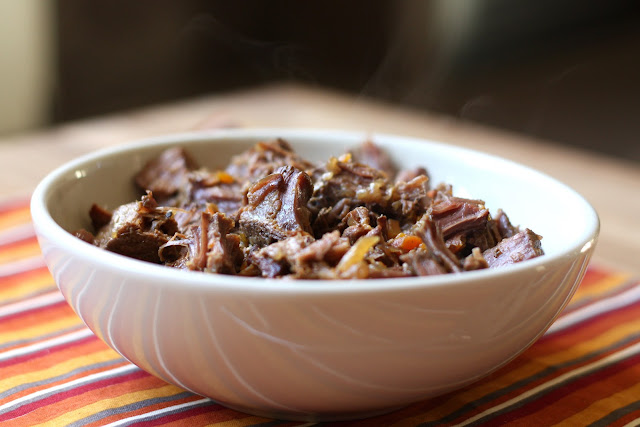 Simple Slow Cooker Pot Roast recipe by Barefeet In The Kitchen