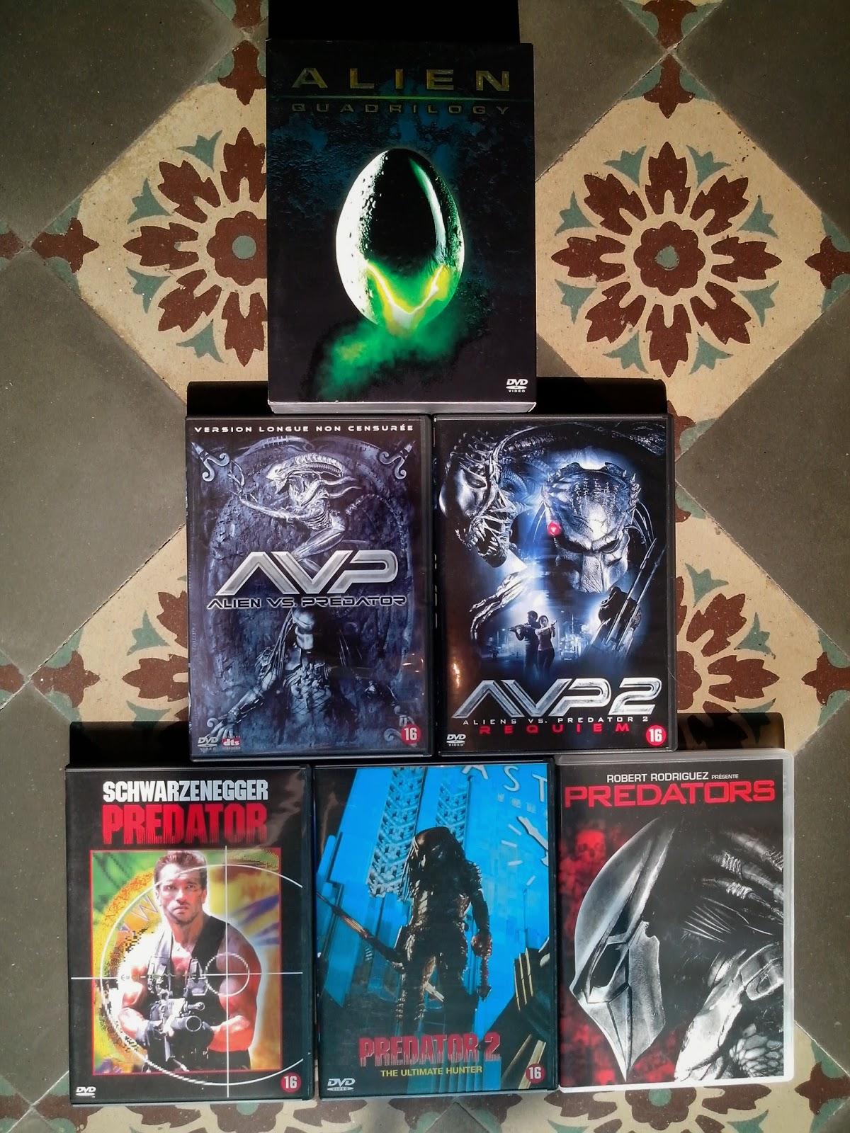 Divers DVD a vendre AVP