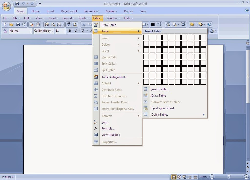 Ms Office 2007 Enterprise Full Serial Key Version screenshot