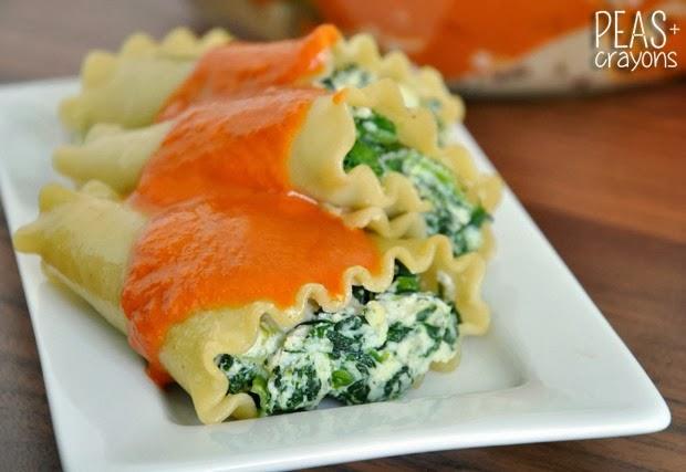Spinach Lasagna Rolls Recipes — Dishmaps