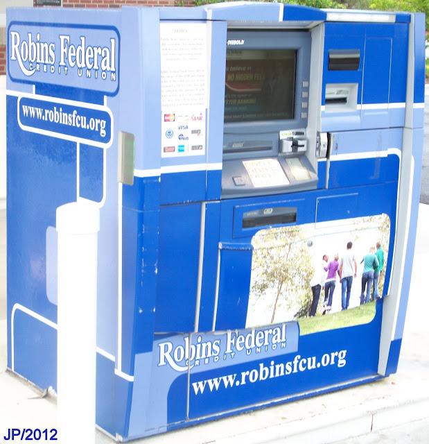 Robins federal credit uniom atm machine robins federal credit union