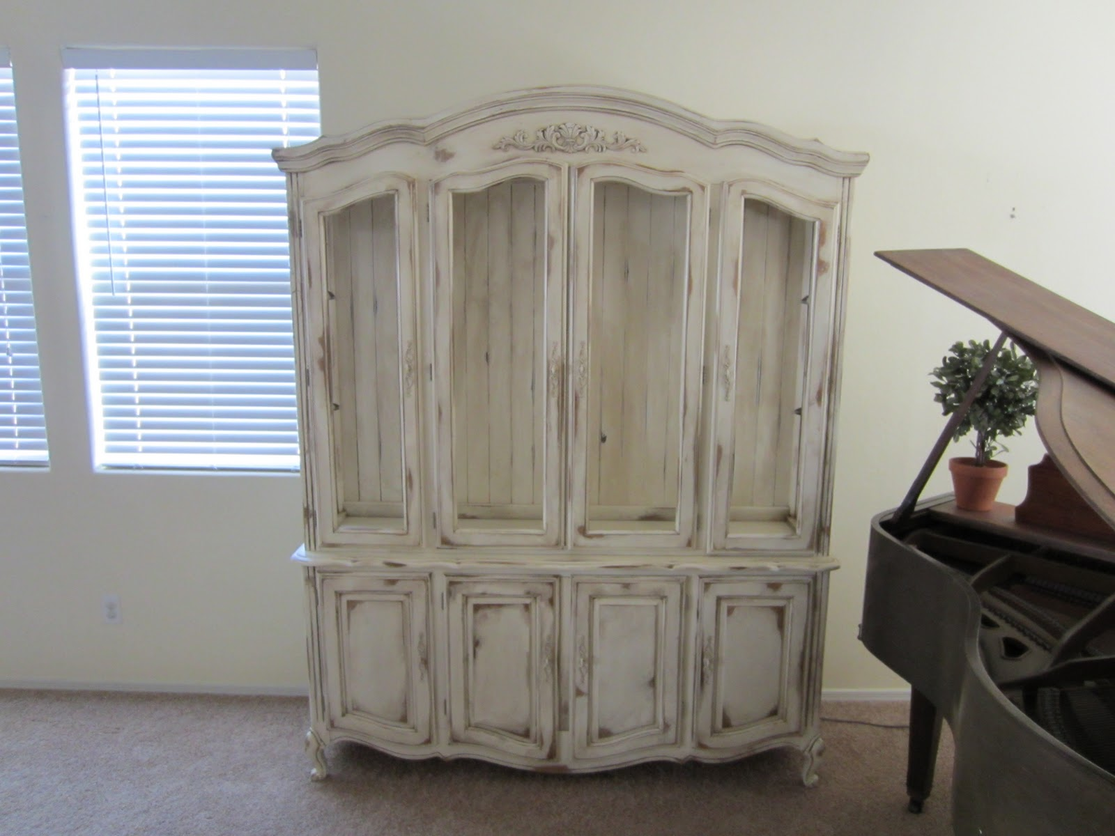 Restoration Furniture French Country Hutch