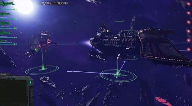 Battlefleet Gothic and Total War Warhammer Videos