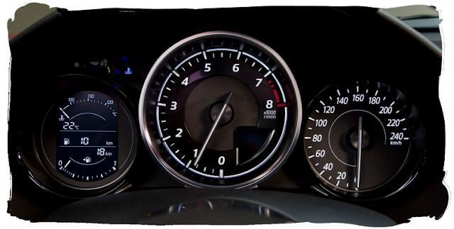Mazda MX-5 Instruments