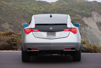 2010-acura-zdx-sedan-car-back