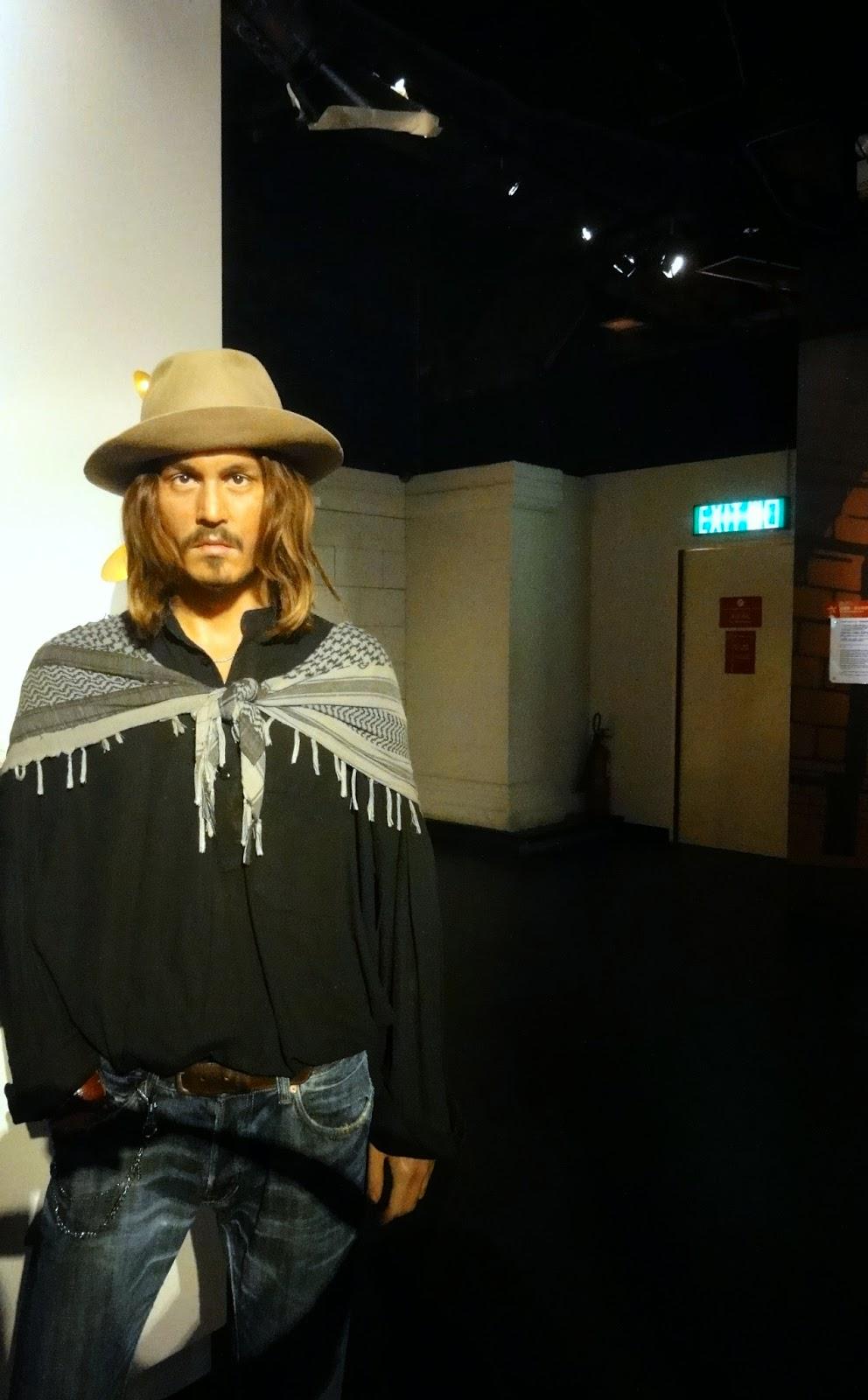 Johnny Deep Wax Museum Hong Kong