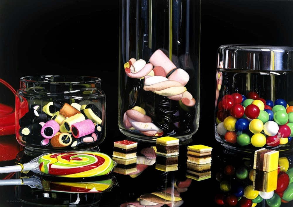 09-Le-Mie-Caramelle-My-Sweets-Roberto-Bernardi-Hyper-realistic-Candy-Paintings-www-designstack-co
