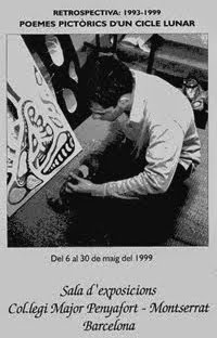 EXPOSICIONES DESTACADAS. 1999. EXPOSICIÓN. UNIVERSIDAD DE BARCELONA. RETROSPECTIVA 1993·1999.