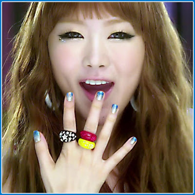 Celeb Nails | DAL★SHABET's Subin In Bling Bling