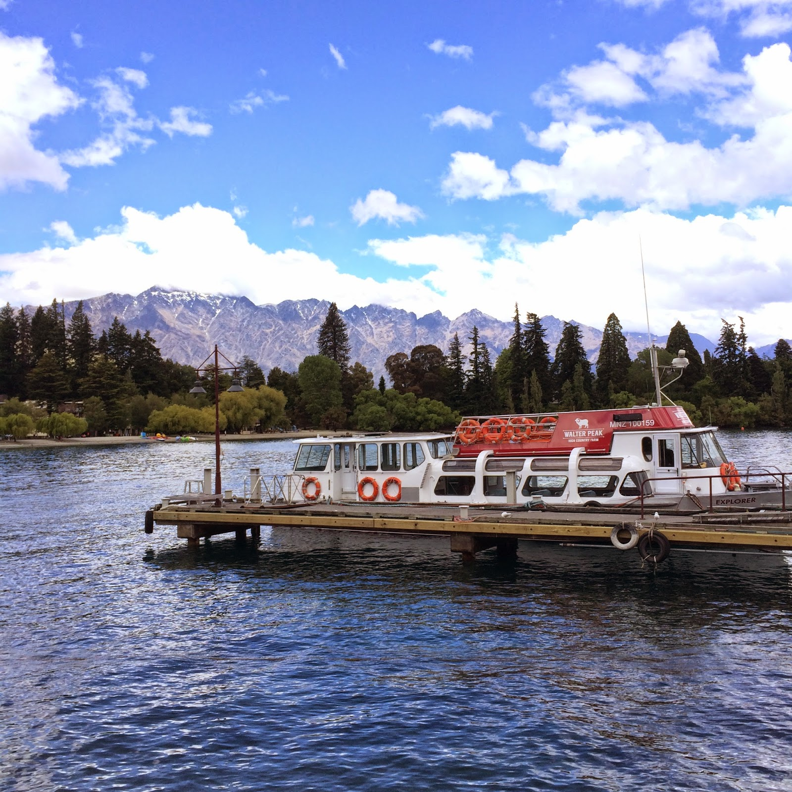 queenstown lake